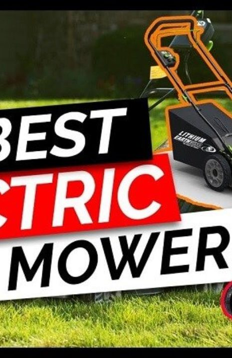 Best Electric Lawn Mowers 2020
