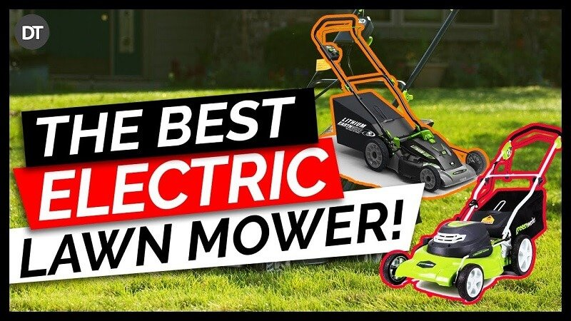 Best Electric Lawn Mower (Corded and Cordless)