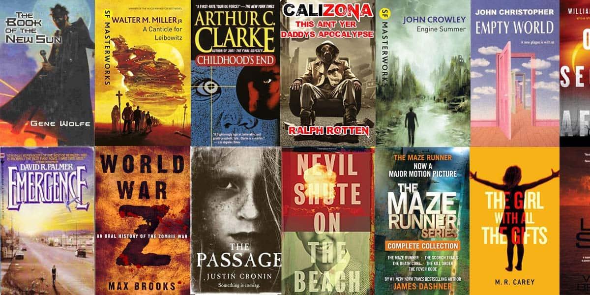 Best Zombie Apocalpse Books