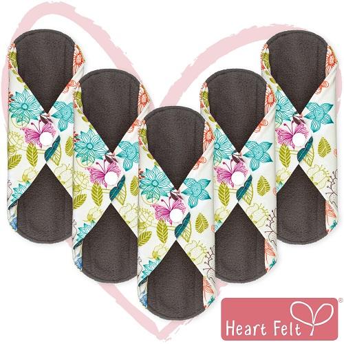 Heart Felt Reusable Cloth Menstrual Pads