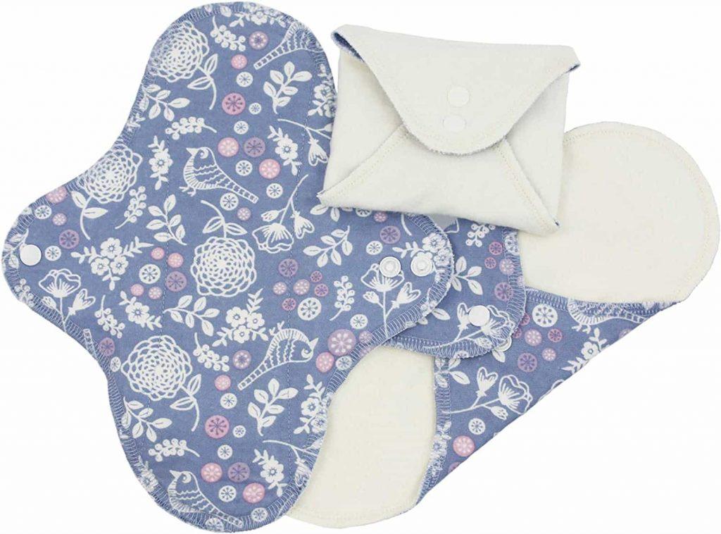 Imse Vimse Organic Cotton Reusable Menstrual Cloth Pads min