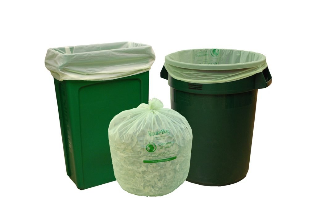 Eco Friendly Biodegradable and compostable trash bags