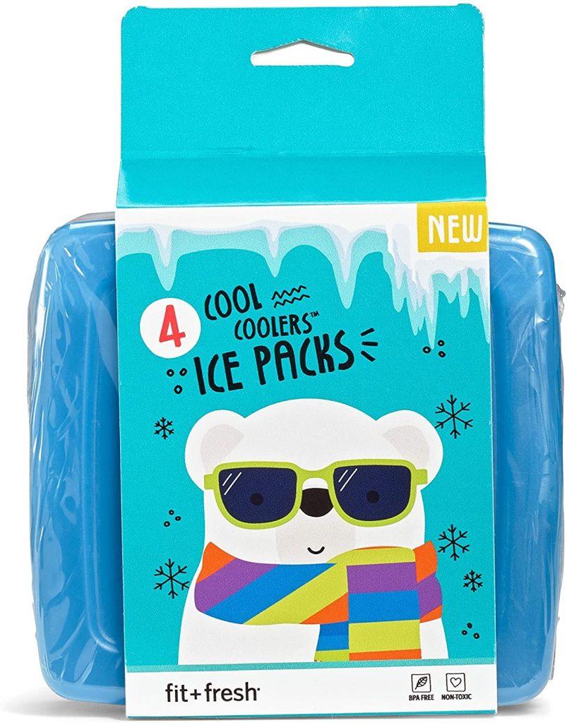 Fit Fresh Coolers Freezers Packs Slim ICE Packs