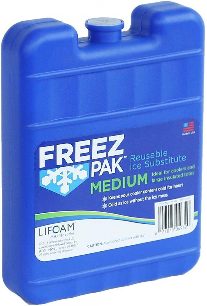Freez Pak Medium Reusable Ice Packs for Coolers min
