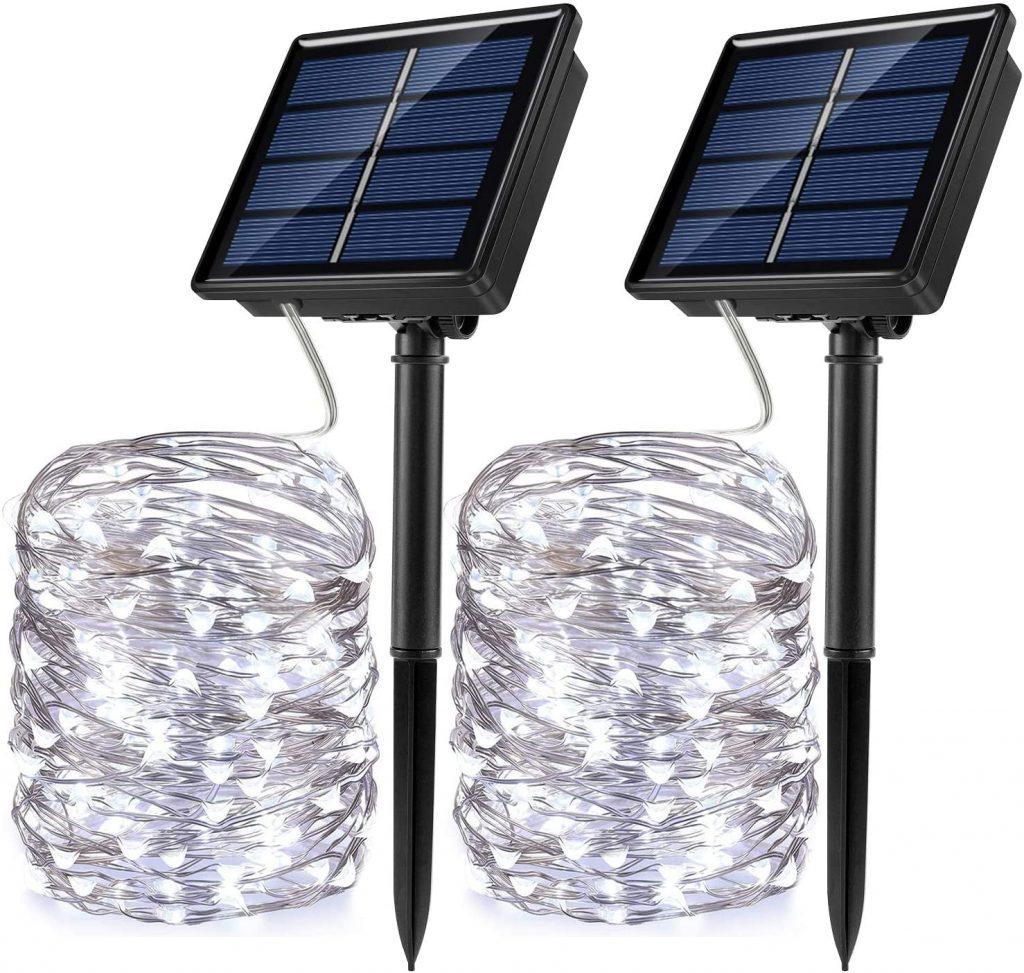 JosMega Solar Powered String Lights