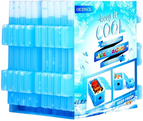 Oicepack 10 Pc Ice Pack For Lunch Box min