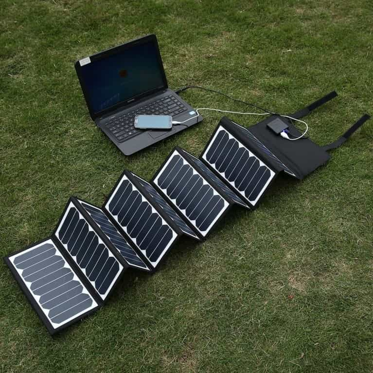 Portable and Foldable Solar Panels Solar charger min
