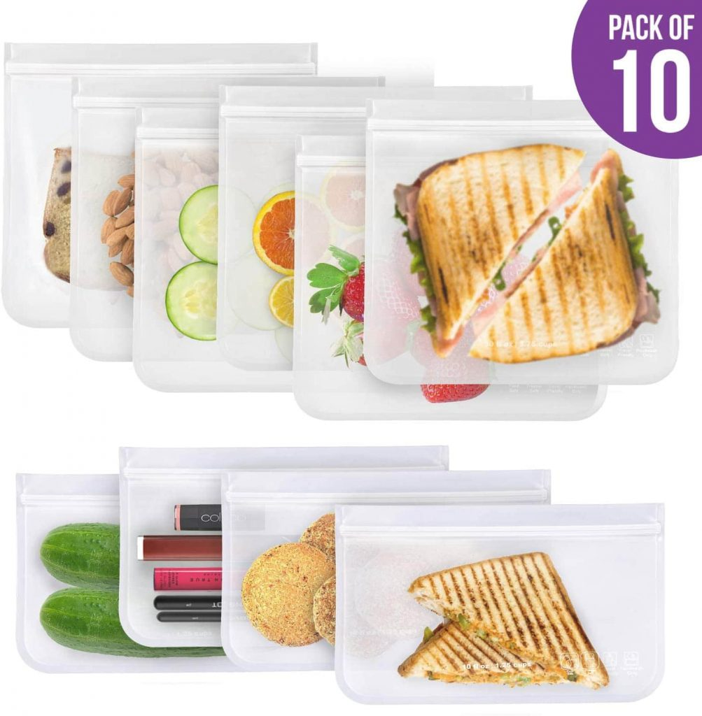 Zembini Reusable Ziploc Sandwich Bags min