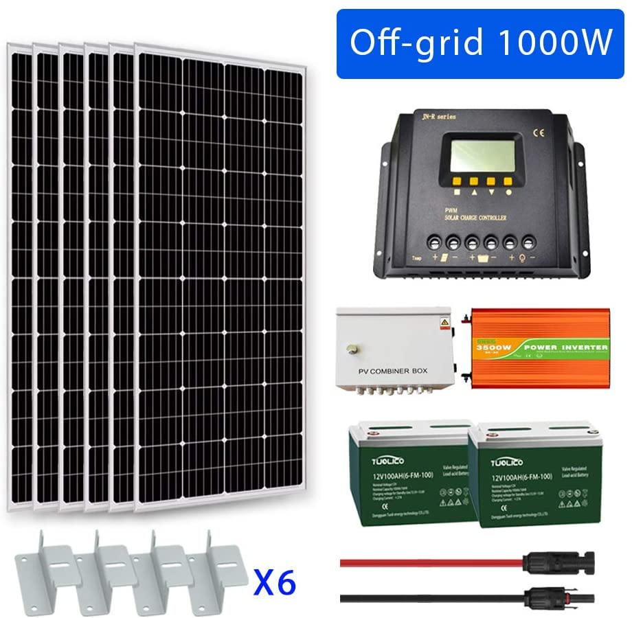 Goosun 1000 Watt Solar Panel Kit