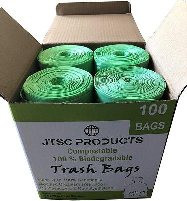 JTSC Compostable Biodegradable Trash Bags