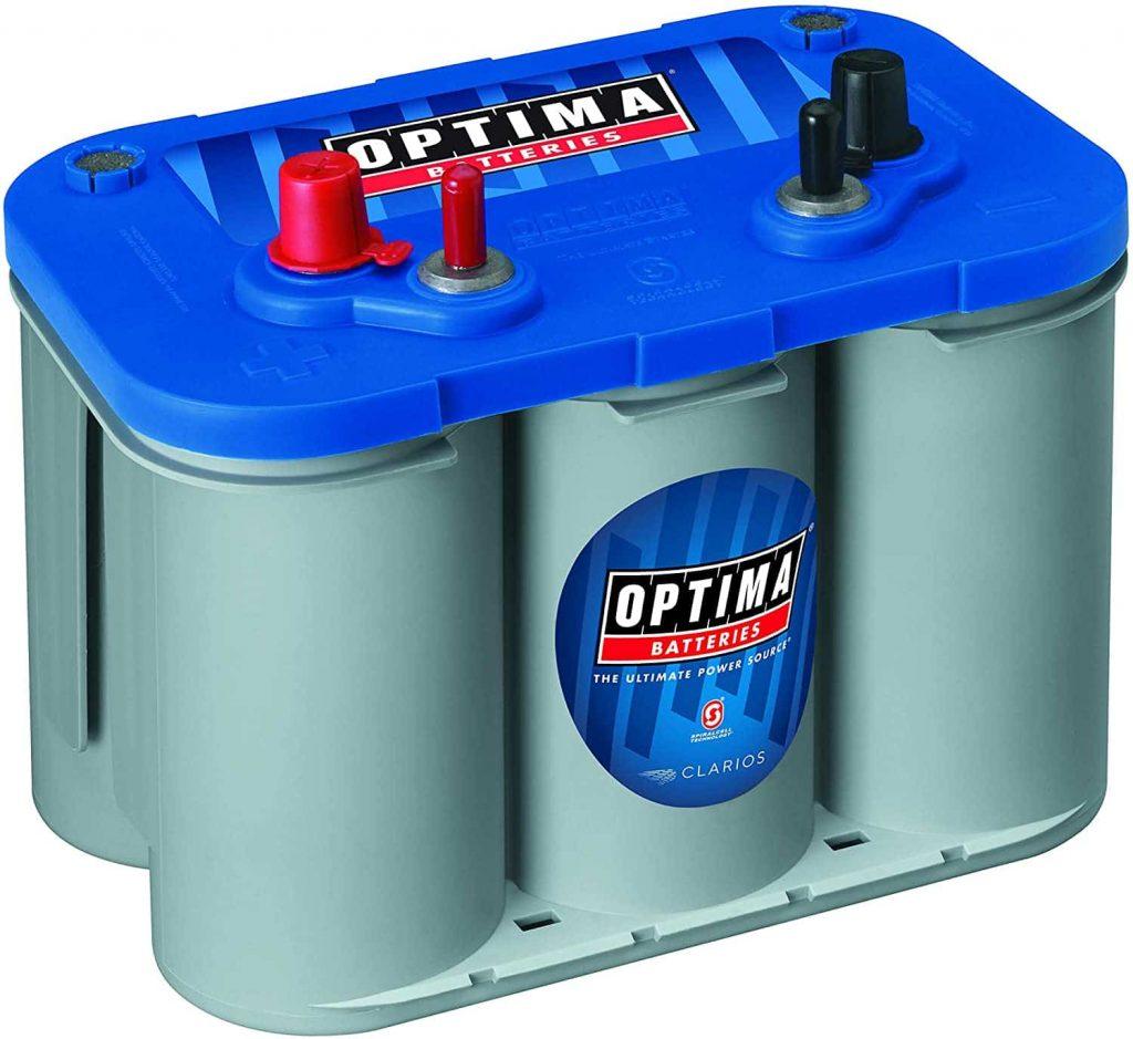 Optima Blue Top 8016 103 D34M Marine RV Deep Cycle Battery min