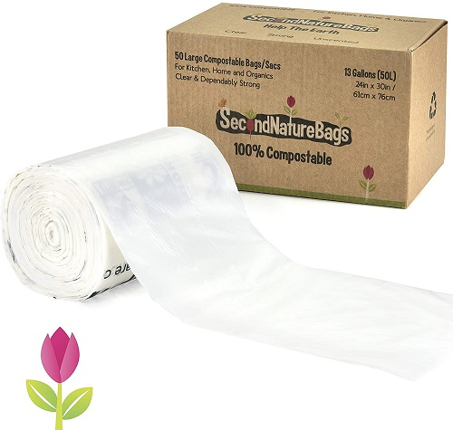 Second Nature Compostable Trash Bags