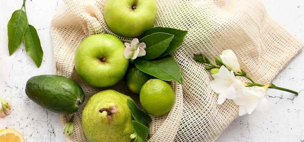 reusable produce bags organic cotton zero waste min