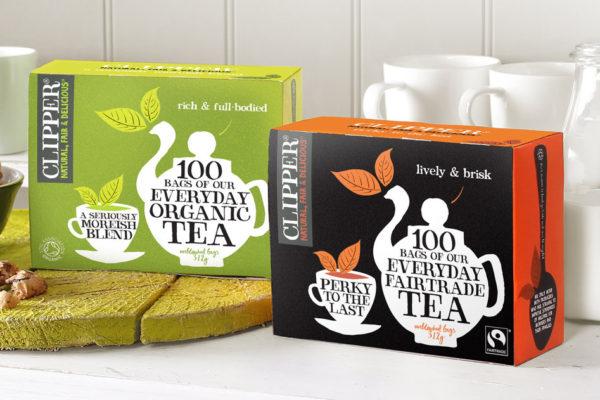 Clipper Organic Everyday Plastic Free Tea Bags