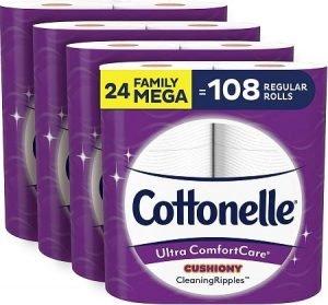 Cottonelle Ultra clean Toilet Paper min