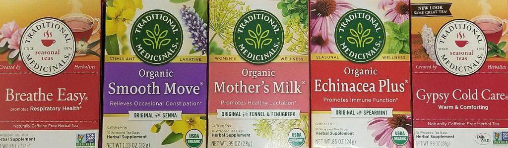Traditional Medicinals Compostable Plastic Free Tea bags