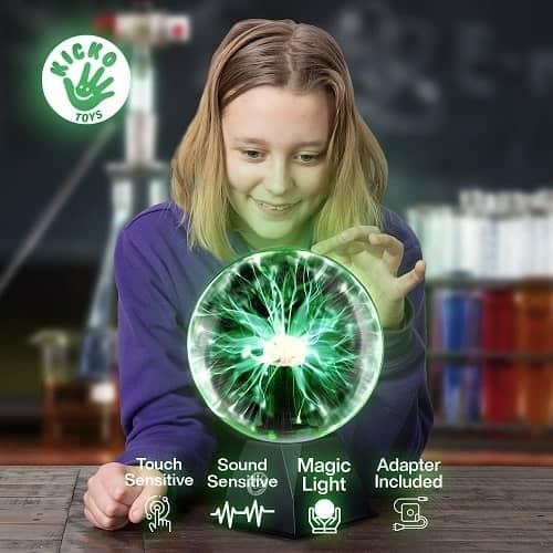 Kicko Green Plasma Ball