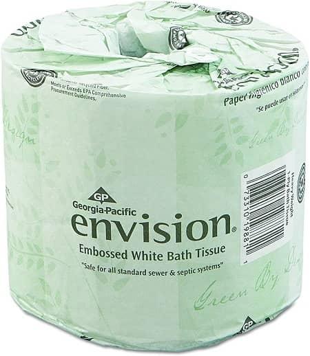 Georgia Pacific Envision Embossed Bathroom Tissue
