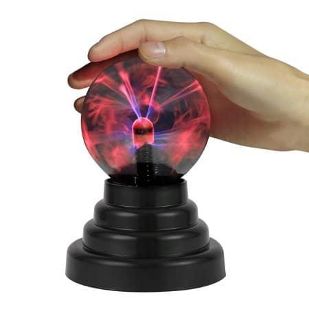 HDE Plasma Ball Lamp Light Nebula Ball Novelty Toy