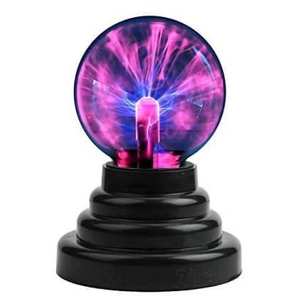 PowerTRC Plasma Ball Lightning Sphere Party USB operated