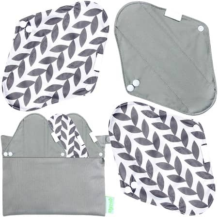 Wegreeco Bamboo Reusable Menstrual Cloth Pads